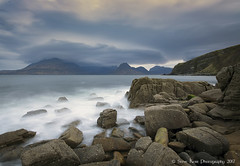 The Cuillin from Elgol at Dawn (silverlarynx) Tags: scotland isle skye elgol dusk seascape le little stopper highlands cuillin