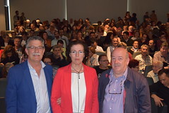 Juan Hidalgo, Gracia Fernández y Eusebio Rodríguez (almeriainformacion) Tags: cine documental la fosa borrada del sur memoria histórica almería museo de