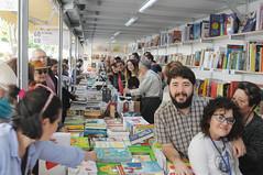 Nacho Larraz i Carme Morera (al fons, més autors)  30/04/2017
