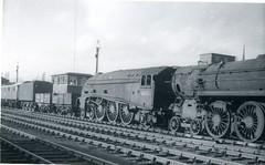 img670 (OldRailPics) Tags: steam locomotive british railways br train crewe works 71000 duke gloucester 60026 miles beevor