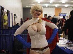 Power Girl (_jwong) Tags: costumes nerd geek cosplay sanjose comicconvention powergirl bigwowcomicfest