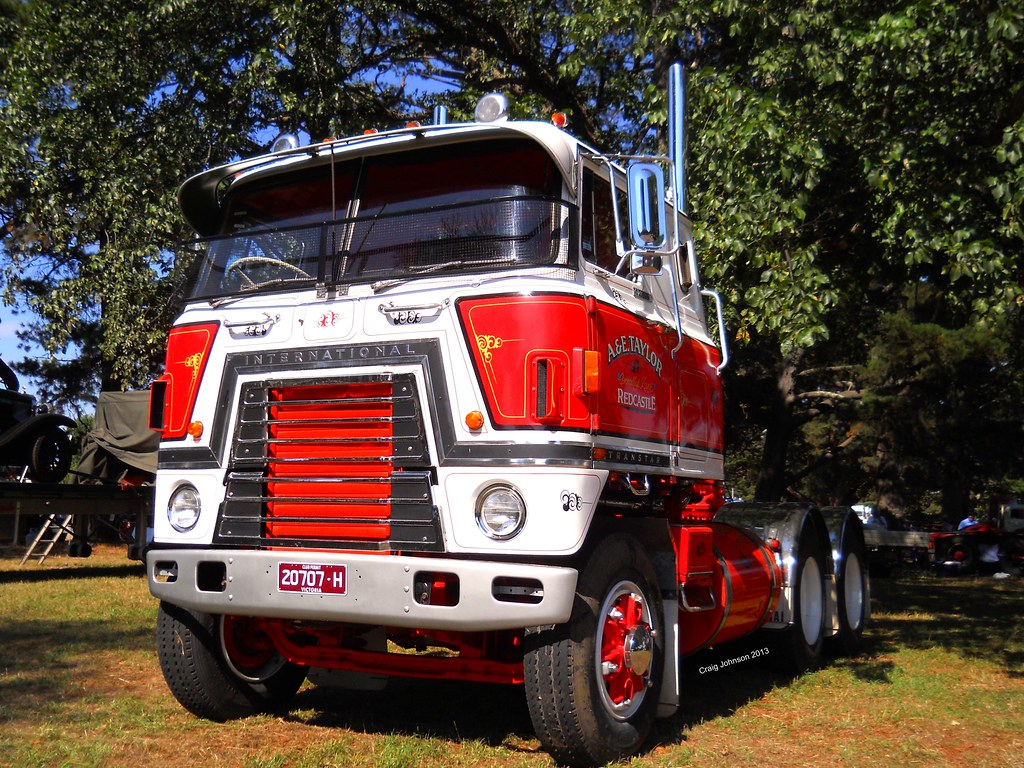 Antique International Cabover : The world s best photos of cabover and transtar flickr