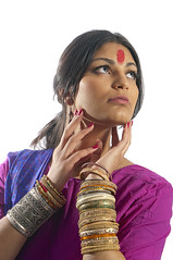 katiew2338 (amelia marie 73) Tags: pink light usa brown india white color beauty fashion mi america silver photography gold mixed nikon dress purple antique michigan kalamazoo highkey tradition sari bangles sinple ameliafalk ameliasbydesign