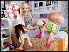 #18 (MarieMako) Tags: doll bjd fairyland pipi dollhouse pongpong azone pureneemo rements excute pukipuki diorame