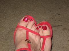 May 2013 (Patrice Bailey) Tags: red feet tv toes cd crossdressing tgirl transgender nails tranny transvestite pedicure crossdresser ts gurl tg tgurl