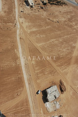 Jimal VNT (APAAME) Tags: flight2 flying2006 road roman vianovatraiana digitalcamera aerialarchaeology aerialphotography middleeast airphoto archaeology ancienthistory