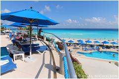 Barcelo Tucancun Hotel (Daniel Nicholson) Tags: summer vacation holiday beach mexico hotel bluewater bluesky swimmingpool beaches caribbean relaxation allinclusive barcelo bluesea rejuvenation goldensand azuresea azurewater barcelotucancun danielnicholson