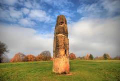 The Gollenstein (Rich3012) Tags: stone standing germany deutschland prehistoric hdr saarland neolithic menhir blieskastel gollenstein