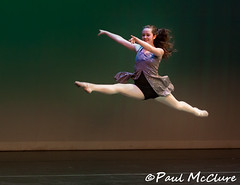 Ella (Paul K McClure) Tags: dance jump women action ambientlight stage canonef70200mmf28l canon50d