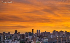 - Burning clouds - Taichung City (prince470701) Tags: sunset taiwan burningclouds  sigma70300mm  taichungcity sonya850