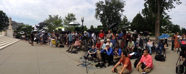Cameras at #SCOTUS