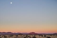 Sesriem Camp, Namibia. (Marie-Laure Even) Tags: voyage africa park trip travel family famille autumn sunset moon mountain fall june montagne de landscape soleil juin desert african au coucher roadtrip southern automn paysage sesriem namibia commonwealth africain afrique dsert namibian namib southernafrica namibie afric naukluft sadc namibnaukluftpark sossuslvei australe 2013 namibi dsertique afriqueaustrale namibienne commonwealthofnations namibien republicofnamibia marielaureeven rpubliquedenamibie