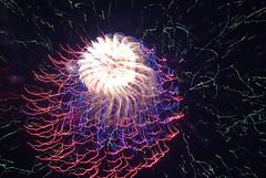 DSC_0177 (AC Fisher) Tags: longexposure lightpainting night lights exposure experimental fireworks nightshots cameratoss lightplay experimentalphotography intentionalcameramovement