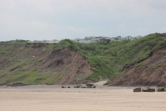 Caravans at Reighton Sands (Tracy.Wilson) Tags: sea beach sands 600d reightonsands reighton canon600d
