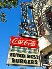 It's Tops, San Francisco, CA (Robby Virus) Tags: sanfrancisco california coffee sign shop breakfast restaurant neon diner coke spoon hamburgers cocacola greasy cheeseburgers itstops