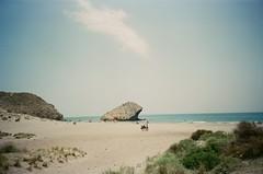 Almeria beach (jiggott) Tags: film analog 35mm lomo spain 35mmfilm analogue cabodegatanijar