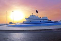 ينبع (EbtesamJ) Tags: sea canon photography eos saudi arabia ksa yanbu تصوير تصويري بحر شروق دوار d650 ينبع الصناعية