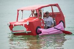 Paddle Something Unusual (agataurbaniak) Tags: water car boat duck nikon funny brighton hove canoe event raft unusual nikkor float pontoon flinstones d600 brightonhove hovelawns inflatableboat 2013 300mm28 royalbaby nikond600 paddleroundthepier nikkor300mm28 paddlesomethingunusual agataurbaniak