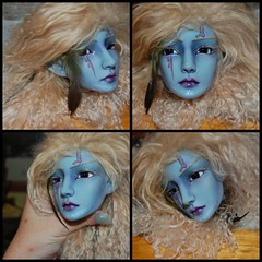 Autumn Queen with Faceup (coloredimage) Tags: rs blueresin resinsoul resinsoullian coloredresin rslian darkblueresin