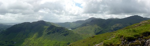 Lingmoor Fell and Pike o'Blisco Panoramic