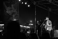 Hanni El Khatib 2 (Urthling) Tags: santa white black rock four lumix pier concert guitar performance el monica micro roll rocknroll blackand rockandroll hanni thirds khatib hannielkhatib gx1