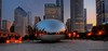 chicago's  cloud gate/ the bean (Rex Montalban Photography) Tags: chicago sunrise cloudgate thebean hdr hss rexmontalbanphotography slidersunday
