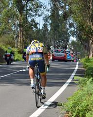 Vuelta 15: Straggler struggles (Majorshots) Tags: galicia galiza vuelta stage4 acorua vueltaespaa etapa4 negreira barrymarkus vacansoleildcmprocyclingteam ocamioreal lavueltaaespaa2013 etapafindelmundo lalnafisterra
