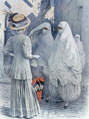 La femme Algrienne ,,, 1910 (menosultra) Tags: history algeria histoire        algrien    thealgerianwomenlafemmealgrienne
