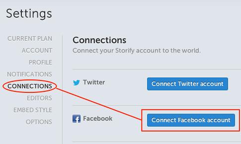 Connect Facebook