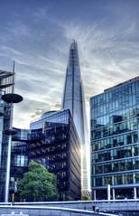 City Skyscape (Ben Hewitt) Tags: city greatbritain sunset london westminster thames skyscraper towerbridge river nikon day colours unitedkingdom capital londoneye parliament shard d800
