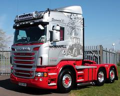 Wrennall Brothers Scania R500 V8 R500 WBH at Truckfest Peterborough 2013 UK (davidseall) Tags: uk truck brothers large goods lorry vehicle heavy peterborough cambridgeshire v8 scania haulage truckfest wbh hgv r500 lgv 2013 wrennall r500wbh