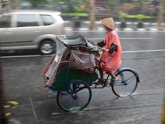 2013-05-21_16-01-42_DSC_0251a (becklectic) Tags: streets rain bicycle indonesia java yogyakarta jogjakarta rickshaw pedicab trishaw views100 2013 worldtrekker