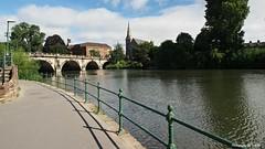 English Bridge Shrewsbury (Bob.W) Tags: shrewsbury englishbridge mygearandme