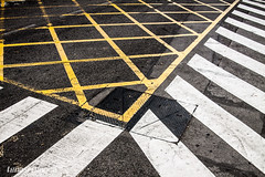 Crosswalk (Natx33) Tags: crossing geometry stripes paso zebra crosswalk zebracrossing pedestriancrossing cebra pasodepeatones pasocebra pasdevianats
