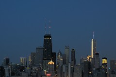 2013 Downtown Chicago From Montrose Point 12 (DrLensCap) Tags: from park chicago building tower robert buildings point illinois downtown sears skyscrappers il lincoln montrose kramer willis skyscrapper