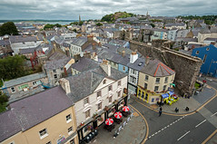 View of Caernarfon (bvi4092) Tags: street city uk travel sea building castle water wales architecture photoshop mar town nikon cityscape unitedkingdom review caernarfon caernarfoncastle sigma1020 d300s