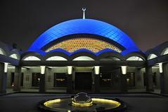 Mavi Kubbe (Atakan Eser) Tags: night clear dome mavi kubbe dsc4871 şakirin şakirincamii