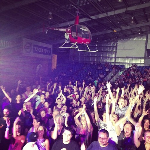 Watch out for the chopper! Thanks Rockhampton!!