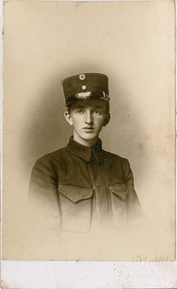 PEM-SCH-00440 Visittkort med portrett av Magnus A. Schrøder