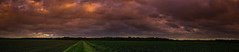 Waiting for the storm (Jos Mecklenfeld) Tags: cameraphone sky panorama storm netherlands clouds landscape sony cellphone v mobilephone groningen landschap terapel westerwolde xperia xperiav sonyxperiav lti25 sonylti25