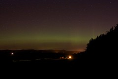 Aberdeenshire Aurora Borealis (Nick Bramhall) Tags: aberdeenshire aurora northernlights auroraborealis midmar