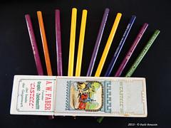 Matite koh-i-nor ( Grovater (Paolo Bonassin) Tags: old italy pencil boxes antiquariato lapis matite bleistifte scatole bleistiftematite paolobonassin