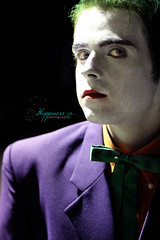 October 31 : Nemesis (RachelBrandtPhotography) Tags: halloween geek cosplay halloweencostume batman joker