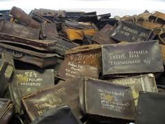 Auschwitz I (Stewie1980) Tags: camp museum canon concentration konzentrationslager wwii poland polska powershot polen auschwitz kl suitcases oświęcim sx130 sx130is canonpowershotsx130is