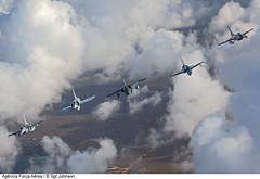 CRUZEX 2013 - Media Flight (Força Aérea Brasileira - Página Oficial) Tags: flight amx voo embraer a1m f16a forcaaereabrasileira f2000c northropf5emtigerii f16ammlu fotojohnsonbarros dassaultmirage2000f2000