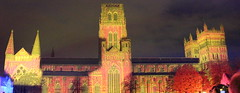 DURHAM LUMIERE 2013 (M7CCF STYLE! 2014) Tags: show light canon eos durham cathedral lumiere 650d m7ccf