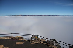 Grand Canyon 2013 Inversion - Hopi Point (Grand Canyon NPS) Tags: winter weather fog landscape frost nps grandcanyon canyon freeze inversion geology nationalparks hopipoint 2013 hermitroad