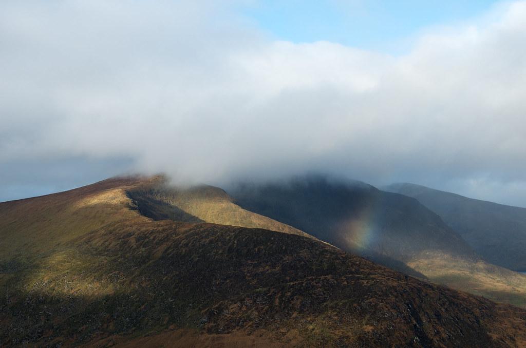 фото: Conner's pass rainbow (close up)
