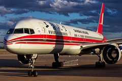 Shanghai Airlines B757-26D B-2834 KGYR (Freightdog Photography - Jared Romanowicz) Tags: arizona graveyard plane canon airplane eos aircraft aviation jet az storage airline boeing goodyear 757 757200 gyr shanghaiairlines 60d kgyr 75726d 55250is b2834