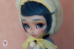 ~ Custom Pullip Bloody for Hysl ~ (-Poison Girl-) Tags: new blue red cute girl hair eyes doll december dolls lashes eyelashes